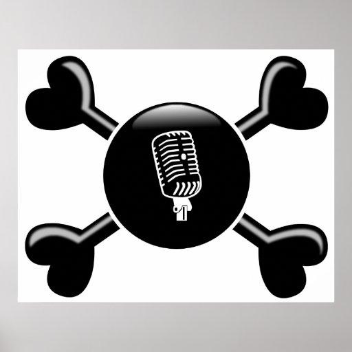 Crossbones Broadcasting Print