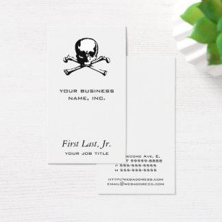 Crossbones Business Card