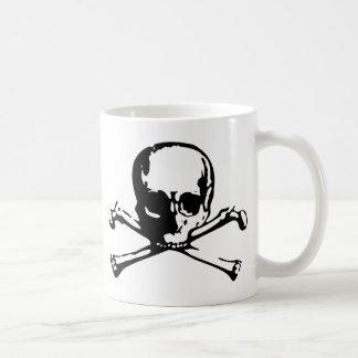 Crossbones Classic White Coffee Mug