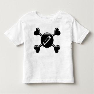 Crossbones Harmonica Toddler T-shirt