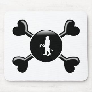 Crossbones MMORPGs Mouse Pads