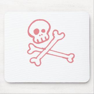 Crossbones& Skull Mouse Pad
