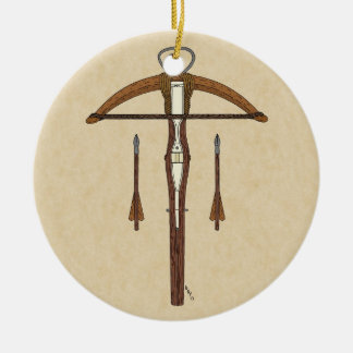 Crossbow Ornament