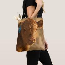 Crossbred Calf Tote Bag