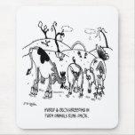 Crossbreeding Run Amok Mouse Pad