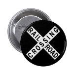 Crossbuck Buttons