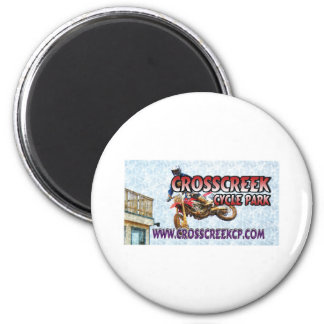 CrossCreek Swag 2 Inch Round Magnet