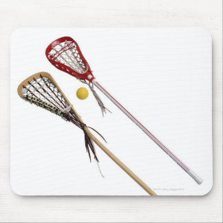 Crosse and Ball Mouse Pad