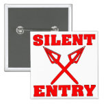 Crossed Arrows Silent Entry Button