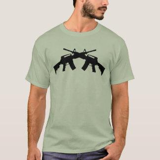 Crossed Assault Rifles Tshirt