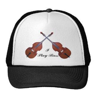 CROSSED BASS-HAT TRUCKER HAT