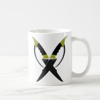 Crossed Blades Mugs