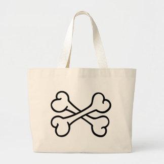 Crossed bones bags