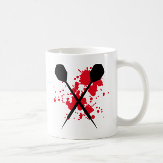 crossed darts icon coffee mug