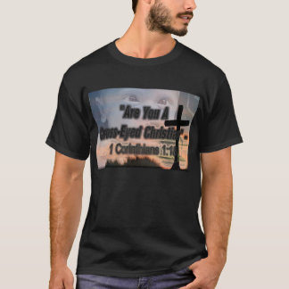 crossed eyed christian T-Shirt