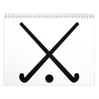 Crossed Field hockey clubs Calendar