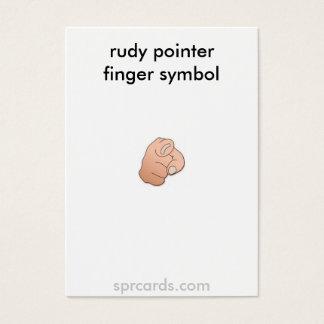 crossed fingers, Be-honestcrossed fingers symbo... Business Card