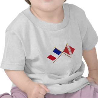 Crossed flags of France and Bas-Rhin Shirt