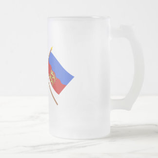 Crossed flags of France and Calvados Mug