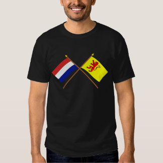 Crossed flags of Holland and Zuid-Holland Shirt
