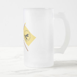 Crossed flags of PNG and National Capitol District Mugs