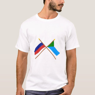 Crossed flags of Russia and Khabarovsk Krai T-Shirt