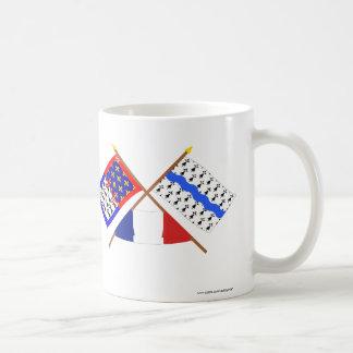 Crossed flags Pays-de-la-Loire & Loire-Atlantique Coffee Mug