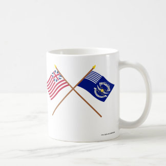 Crossed Grand Union and 2nd Regiment Light Dragoon Coffee Mug