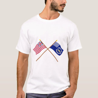 Crossed Grand Union and 2nd Regiment Light Dragoon T-Shirt