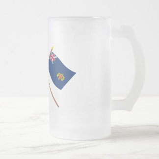Crossed Grand Union and New Hampshire 2nd Regiment Mugs