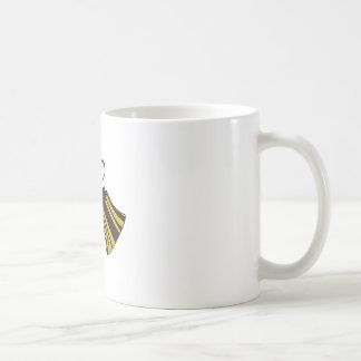 Crossed Handbells Coffee Mug
