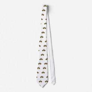 Crossed Handbells Neck Tie