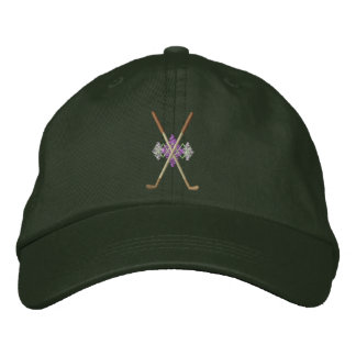 Crossed Irons Embroidered Baseball Cap