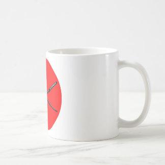Crossed Japanese Katana Coffee Mug