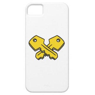 CROSSED KEYS iPhone 5 CASE