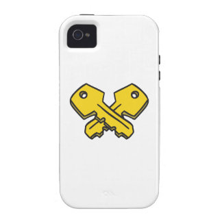 CROSSED KEYS Case-Mate iPhone 4 COVER