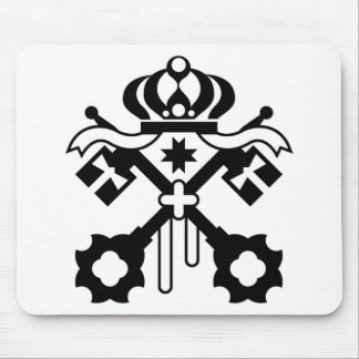 Crossed Keys symbol Mouse Pad
