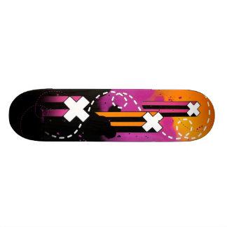 Crossed Lines Skateboard Deck