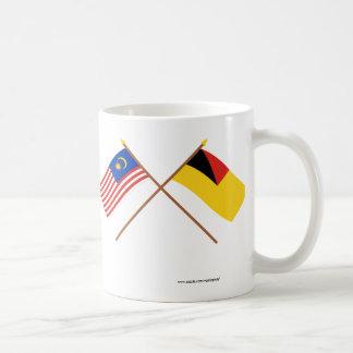 Crossed Malaysia and Negeri Sembilan flags Coffee Mug