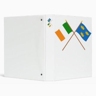 Crossed Munster Province Flags Binder