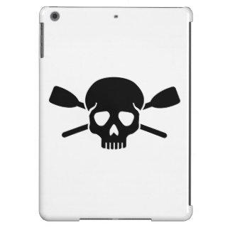 Crossed oars paddles skull iPad air cases