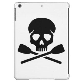 Crossed oars skull iPad air cases