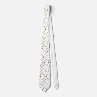 Crossed Ojibwe Sticks Neck Tie