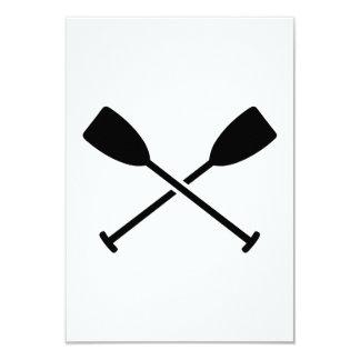 Crossed Paddles Card