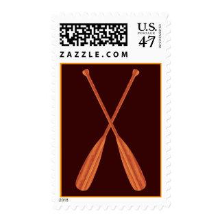 Crossed Paddles Postage