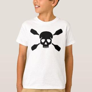 Crossed paddles skull T-Shirt