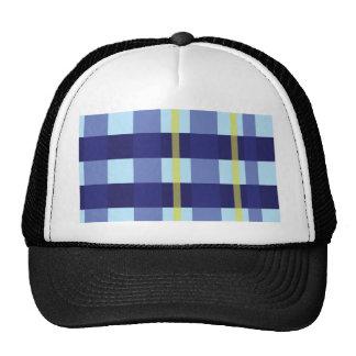 Crossed Pattern Trucker Hat