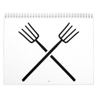 Crossed Pitchforks Calendar