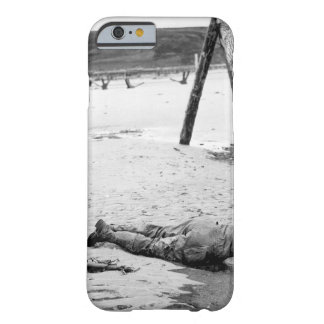 Crossed rifles in the sand are a comrade's tribute barely there iPhone 6 case