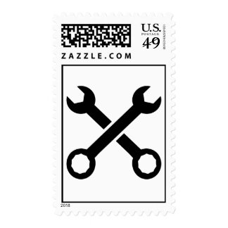Crossed Screw wrench Stamps